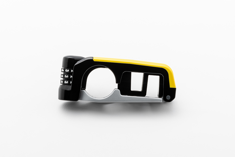 携行性重視の小型デザイン